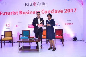 Sunder Madakshira delivers keynote at the Futuristic Business Conclave at Gurgaon on 18th Aug 2017