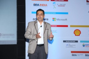 Sunder Madakshira delivers the keynote at the IIBA Convention in Bangalore on Aug 4, 2017