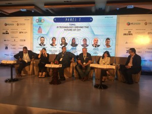 "Sunder Madakshira moderated the panel on ""Is Technology Driving the Future of CX?"" with CMO's from India's Leading brands."