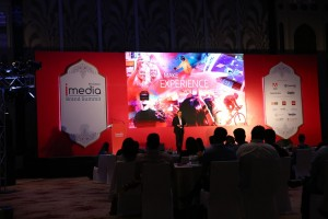 "Sunder Madakshira delivered the keynote on the topic ""Where Experience is the Brand"" at the iMedia Brand Summit, Jaipur on the 29th August 2018."
